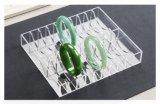 Paste de In het groot Uitstekende kwaliteit van Qcy de Duidelijke AcrylVertoning van de Armband van de Jade aan