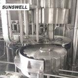 6 rotatorios automáticos en 1 máquina de rellenar del jugo aséptico de la máquina de embotellado