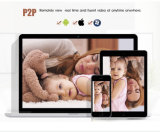 3G WiFi 4G de segurança da rede doméstica digital impermeável câmera IP