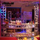 容易トラス展覧会の表示によって使用されるアルミニウムトラスをインストールしなさい