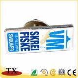 Kundenspezifisches Farben-Einfüllen und Seide-Druck-Metallkennsatz-Abzeichen