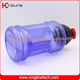 2.5L BPAはハンドル、体操の水差し、適性のびん、スポーツびん、水瓶、蛋白質のシェーカーのびんが付いている水差しを放す