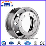 O PONTO TUV aprovou a borda de alumínio forjada 22.5X8.25 da roda de Trailerparts do caminhão