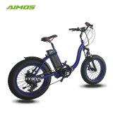 شاطئ طرّاد 20 بوصة إطار العجلة سمين درّاجة كهربائيّة [250و]