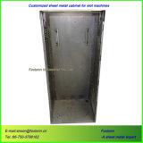 Gabinete de solda personalizado do metal de folha para a carcaça da máquina de entalhe