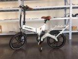"""Bici plegable eléctrica de la suspensión del Ce 20 """" de la ciudad llena del poder más elevado con la batería de litio ocultada"""