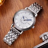 H305-s Horloge van het Embleem van de Douane van de Band van het Horloge van het Staal van de Mensen van de Luxe van het Polshorloge van de Manier het Nieuwe
