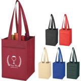 2018 Firmenzeichen-Flaschen-Geschenk-Beutel für das Wein-Halter-Verpacken personifizieren