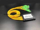 Cable de fibra óptica Gpon de telecomunicaciones 1X16 Caja de ABS PLC Splitter