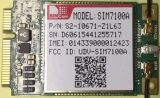 최신 판매 100Mbps까지 무선 모듈 SIM7100A 소형 Pcie 공용영역 Downlink