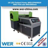 Принтер Wer-Ep6090UV влияния 3D 60cm*90cm Ce Approved крупноразмерный UV планшетный