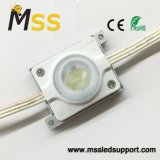 La luz de alta potencia de 3W módulo LED impermeable 1 LED de luz de la caja de publicidad