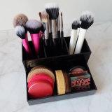 Sostenedor de cepillo de acrílico del maquillaje de la herramienta de la visualización del organizador de sequía cosmético del aire
