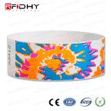 専門の(r) 1K RFID中国の製造業者13.56MHz MIFAREのリスト・ストラップ