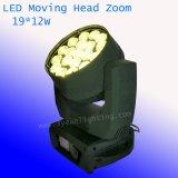 12W X 19 RGBW LED Summen-bewegliches Hauptlicht