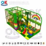 Оптовая спортивная площадка с спортивной площадкой Trampoline скольжения пробки крытый для малышей