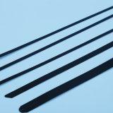 L'alta qualità 201 304 316 fascette ferma-cavo Locked della sfera dell'acciaio inossidabile con il PVC ha ricoperto
