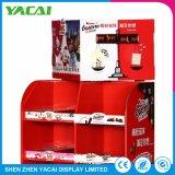Lojas especializadas, suporte de papel Exibição de chão de fábrica em Rack