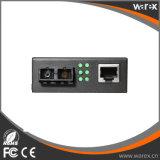 Elevado desempenho 1X Fx - SC portuário 60km do conversor 1550nm dos media de 1X UTP 10/100M