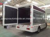 Alta qualità 5 tonnellate di veicolo di pubblicità esterna con lo schermo variopinto P8