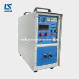 máquina de alta frecuencia el cubrir con bronce de inducción del tubo del tubo 16kw