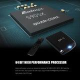 최신 Amlogic S905X는 지능적인 텔레비젼 상자 WiFi 인조 인간 6.0 4K 이중으로 한다