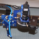レーザー機械(JM-960H-CCD)を処理するゴム製パッチ