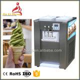 kommerzielle weiche Eiscreme 55~60L/H, die Maschine mit Zufuhrbehälter-Quirl herstellt