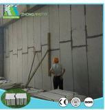 Scheda composita interno/esterno della parete del cemento del panino della costruzione