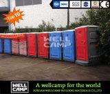 Água de Wellcamp que conserva o toalete móvel