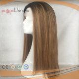 Parrucca superiore di colore di Omber dei capelli umani della pelle (PPG-l-0763)