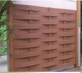 Cerca compuesta de la madera popular y plástica WPC de la calidad durable