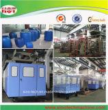 Plastiktrommel-Blasformen-Maschinen-Lieferant/blauer Plastikzylinder, der Maschine herstellt