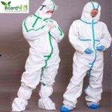Vêtement protecteur microporeux non tissé remplaçable de combinaison de pp