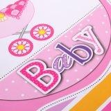 Projeto encantador para a roupa do bebê que empacota sacos de papel laminados costume