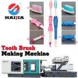 機械を作る歯ブラシ--射出成形機械
