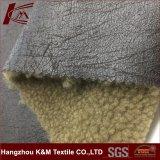 Laine polaire de polyester de haute qualité pour l'extérieur en tissu