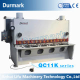 Nc/CNC wahlweise freigestellte hydraulische Blech-Guillotine-Schermaschine