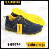牛革が付いているスポーツの安全靴