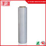 Matériau vierge 100 % étanche Pre-Stretch PEBDL Film avec la haute transparence Emballage palette