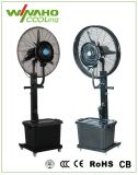 Design de clássicos do ventilador água ventoinha nebulizadora portátil com marcação CE