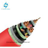 hasta 35kv 630mm2 XLPE cable de transmisión aislado