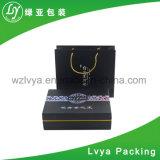 Rectángulo de empaquetado impreso del alimento del perfume del regalo cosmético del papel