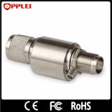 Протектор молнии антенного кабеля разъема 0-2.5GHz f газовой лампы коаксиальный