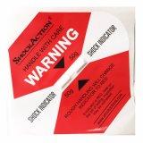 Étiquettes d'expédition mondiales d'indicateur de choc de logistique pour le colis