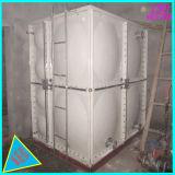 1000 tanque de armazenamento retangular da água da fibra de vidro cúbica do medidor SMC FRP GRP