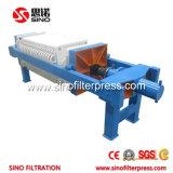 1000 PP filtro prensa de la cámara automática para Aguas Residuales de obras de agua