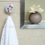 Aspiración de la novedad de ganchos de montaje de pared para colgar la toalla de baño