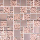 Mattonelle di mosaico in bianco e nero poco costose di alta qualità