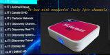 Cadre E8 de TV plus l'arabe France de cadre de Kodi 17.1 IPTV de Quarte-Faisceau d'Amlogic S905X de l'androïde 6.0